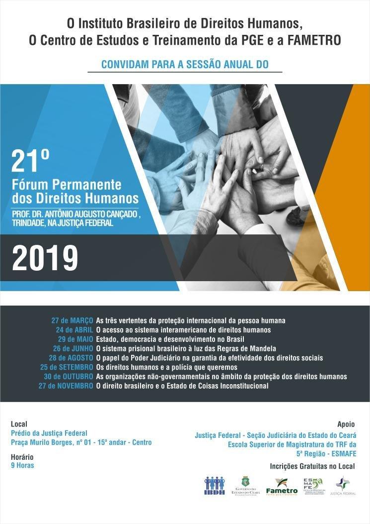 21° Fórum Permanente dos Direitos Humanos