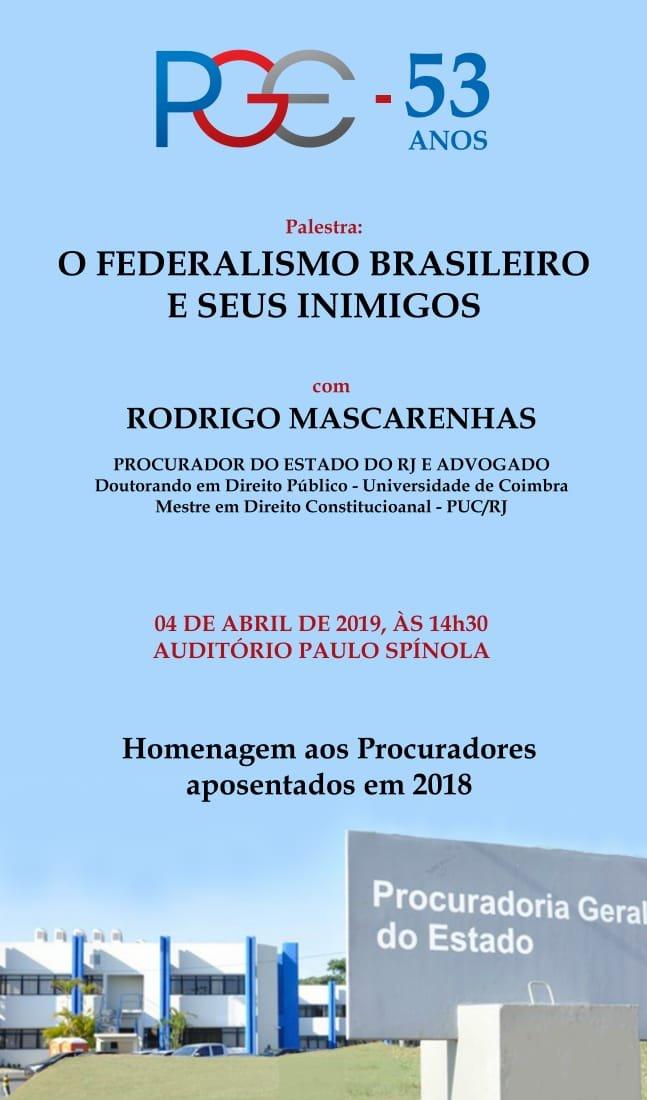 O FEDERALISMO BRASILEIRO E SEUS INIMIGOS