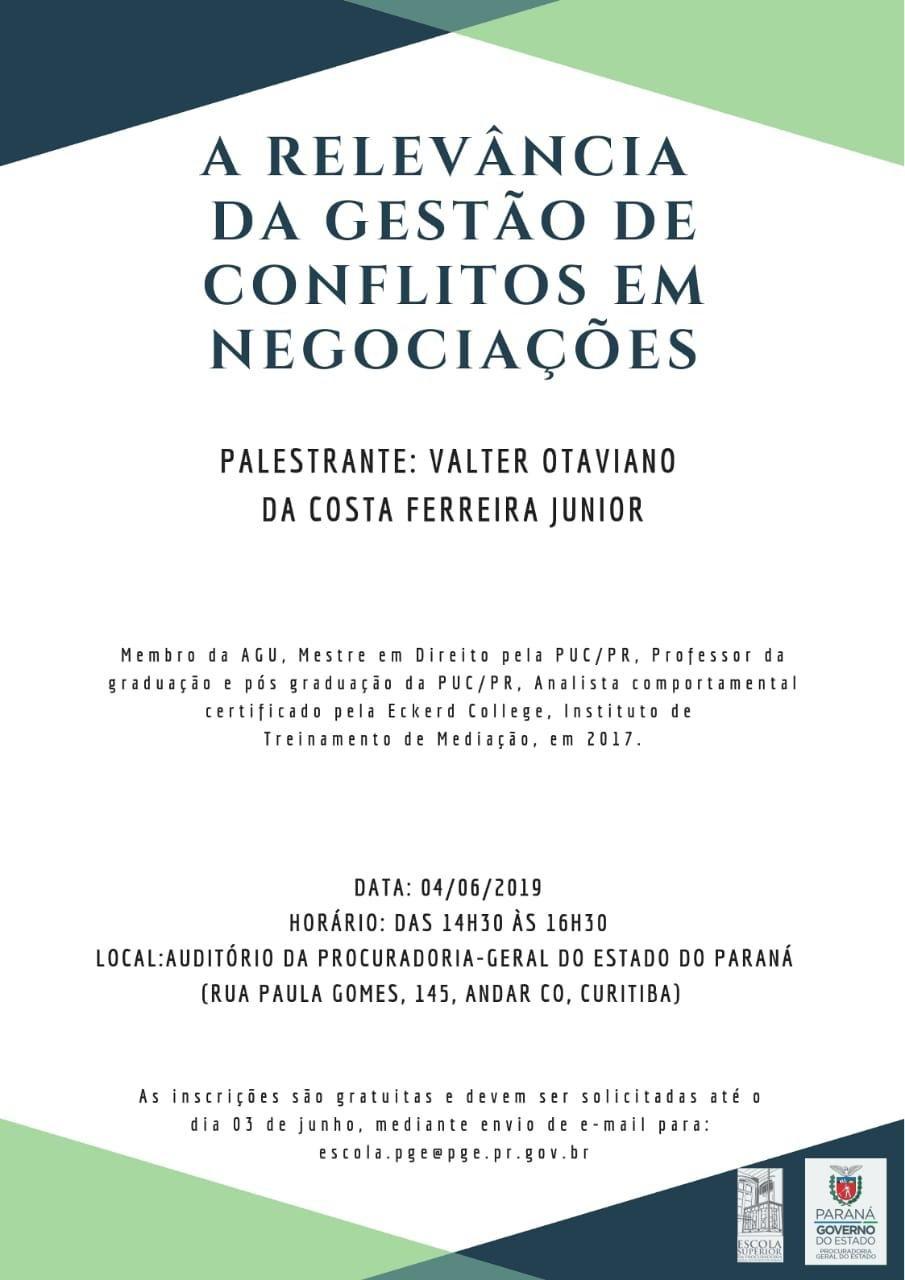 A RELEVÂNCIA DA GESTÃO DE CONFLITOS EM NEGOCIAÇÕES