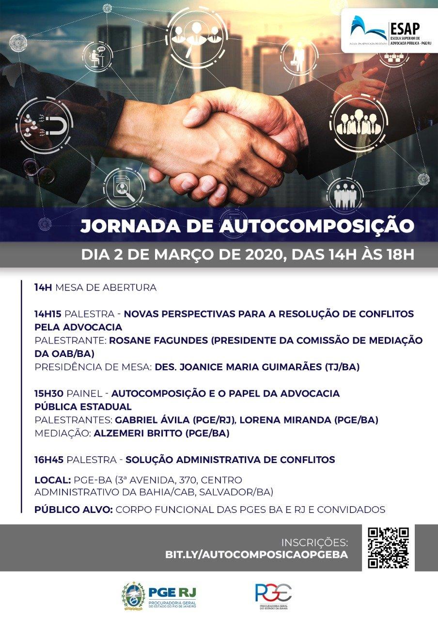JORNADA DE AUTOCOMPOSIÇÃO