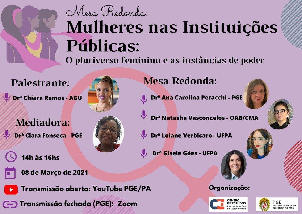 Mulheres nas Instituições Públicas: Opluriverso feminino e as instâncias de poder